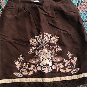 Loft Petites Skirt